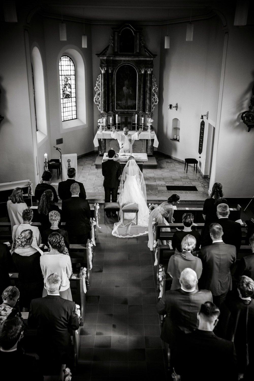 Segnung von dem Pfarrer, Heiraten in Köln
