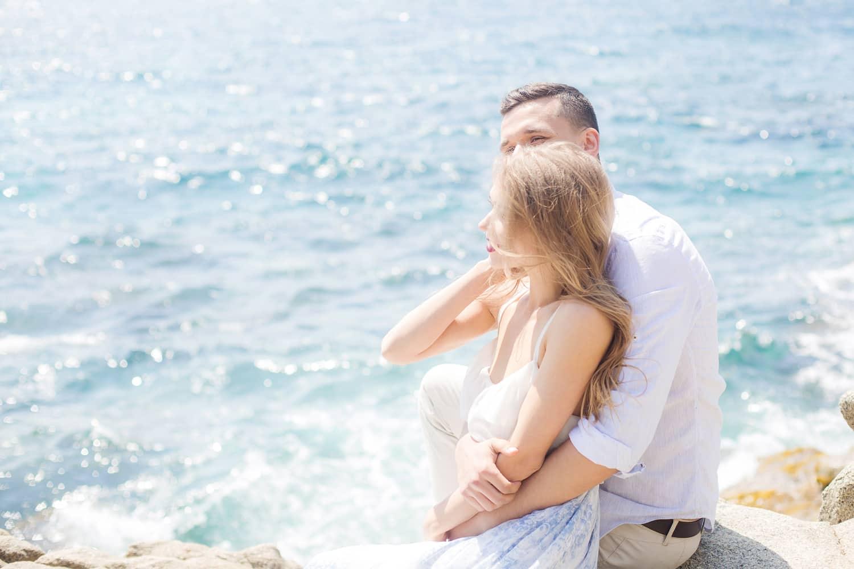 heiraten am strand in spanien,  destinationwedding barcelona, hochzeitslocation für elopement hochzeit an der costa brava