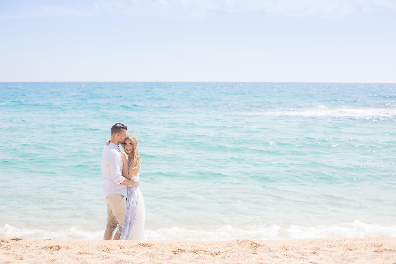 Heiraten am Meer in Tarragona, Hochzeitsreise in Spanien, Hochzeitsfotograf Barcelona
