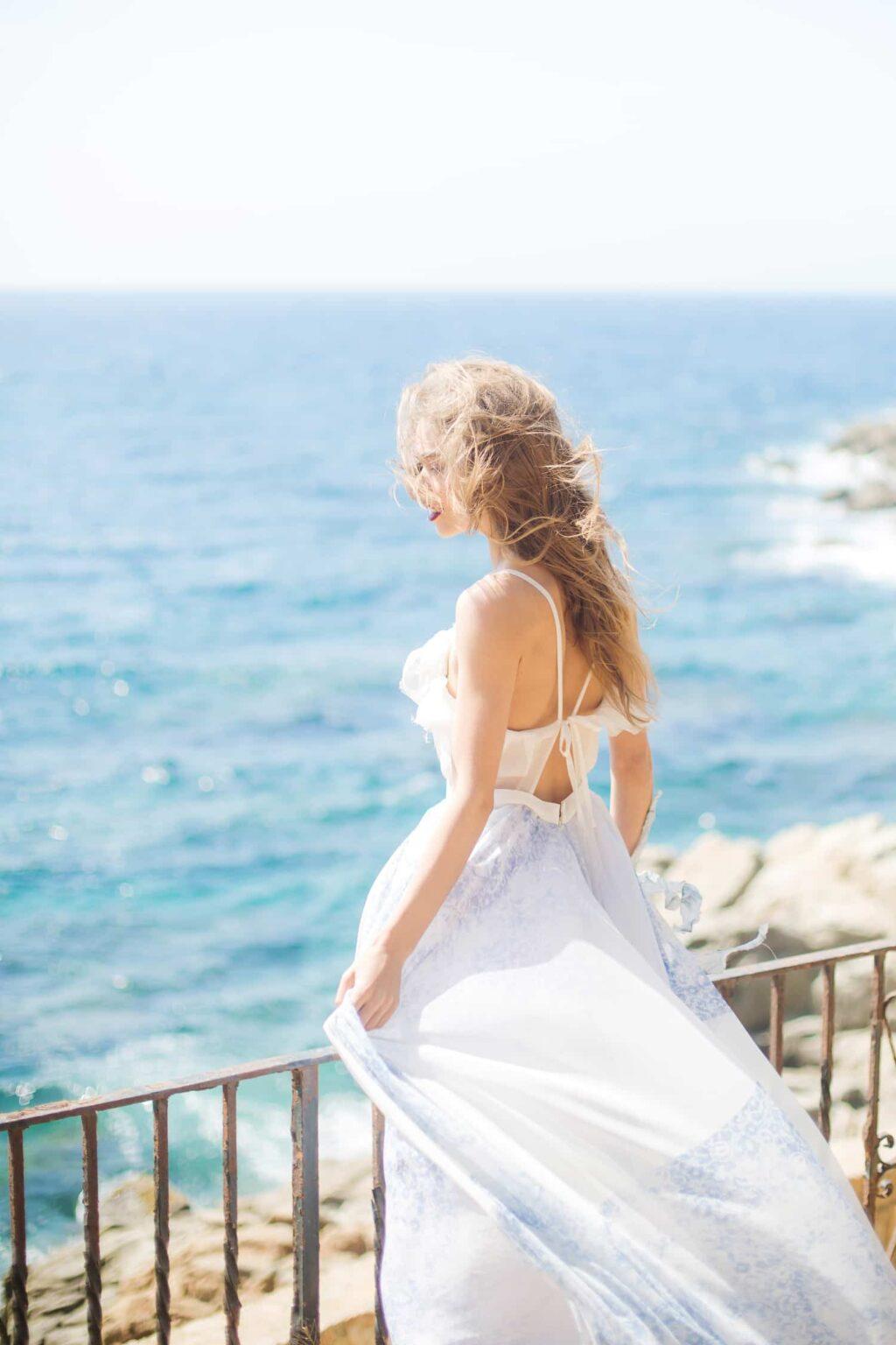 Elopement Hochzeit in Barcelona, Destinationwedding am Meer in Spanien, Hochzeitsfotograf Aschaffenburg