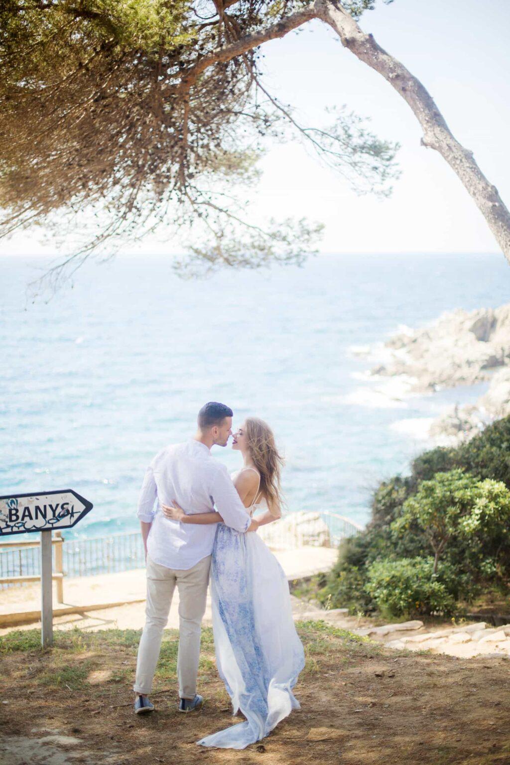 Elopement Hochzeit in Barcelona, Hochzeitsfotograf Costa Brava, Heiraten in Tarragona