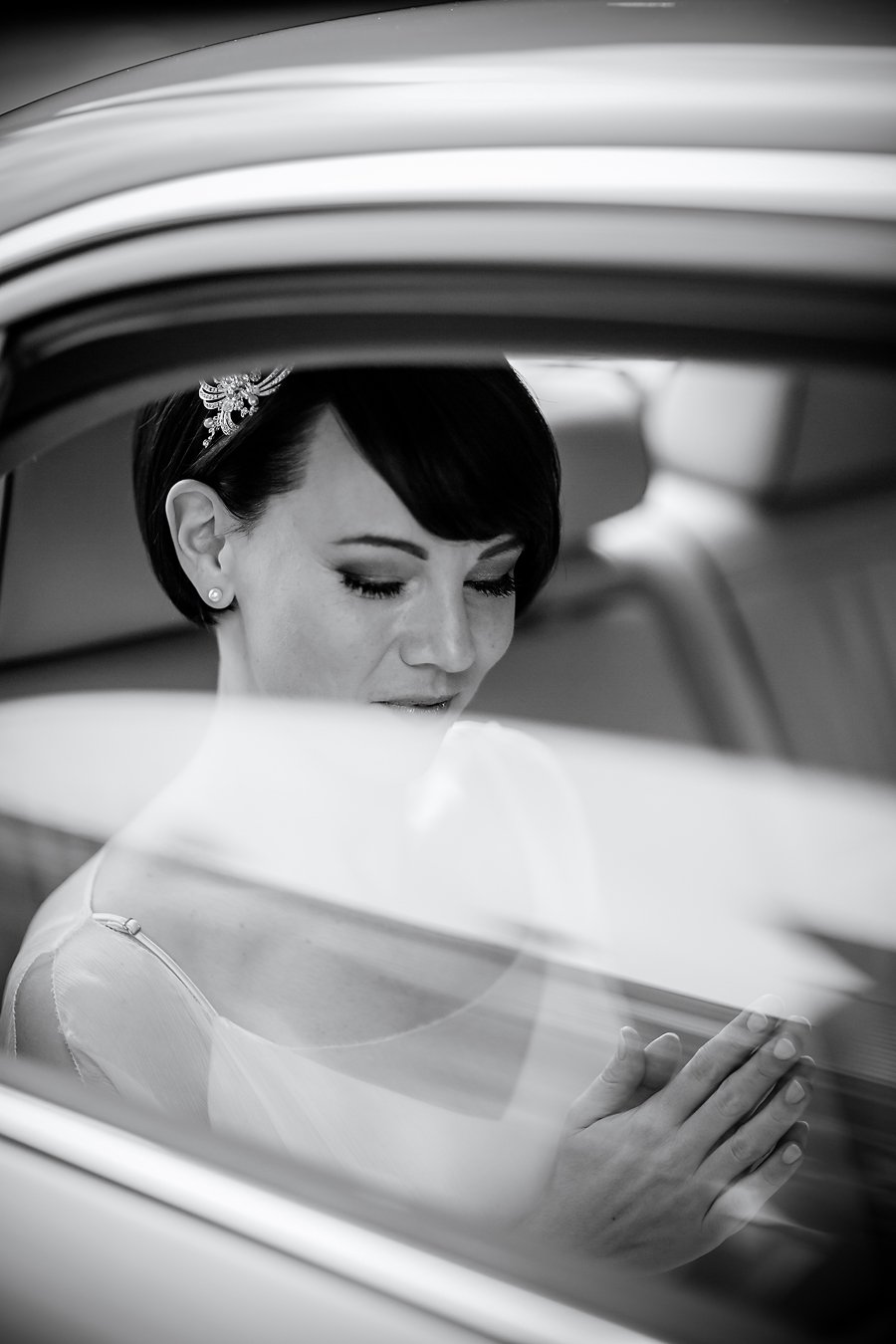 Hochzeitsfotograf Wiesbaden, Fotograf Frankfurt, Braut mit kurzem Haar