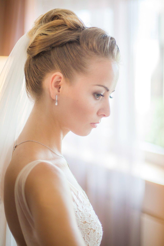 Romantisches Braut Boudoir am Hochzeitsmorgen, Hochzeitsfotograf Frankfurt