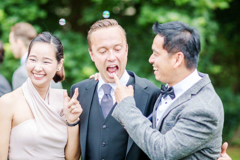 Gruppenbilder bei Hochzeiten in Frankfurt, Schloßhochzeit Vollrads