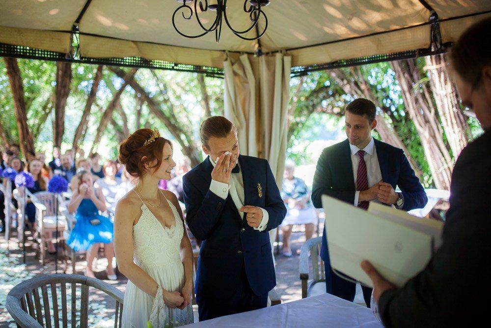authentische, emotionale Hochzeitsreportage Berlin, Hochzeit im Spreewaldresort Seinerzeit