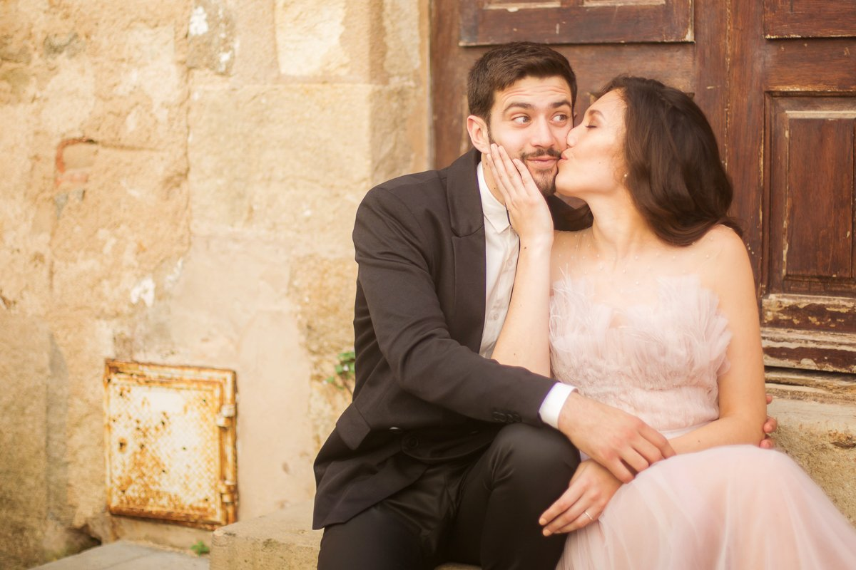Hochzeitsfotograf Frankfurt, Schloßhochzeit Rheingau, Afterwedding in Barcelona