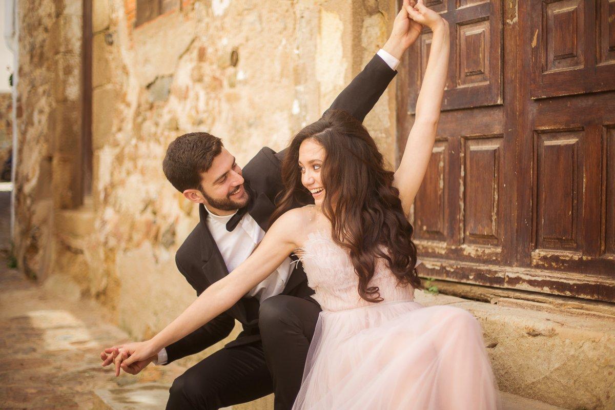 afterweddingshooting barcelona, heiraten im Süden, Strandhochzeit Spanien