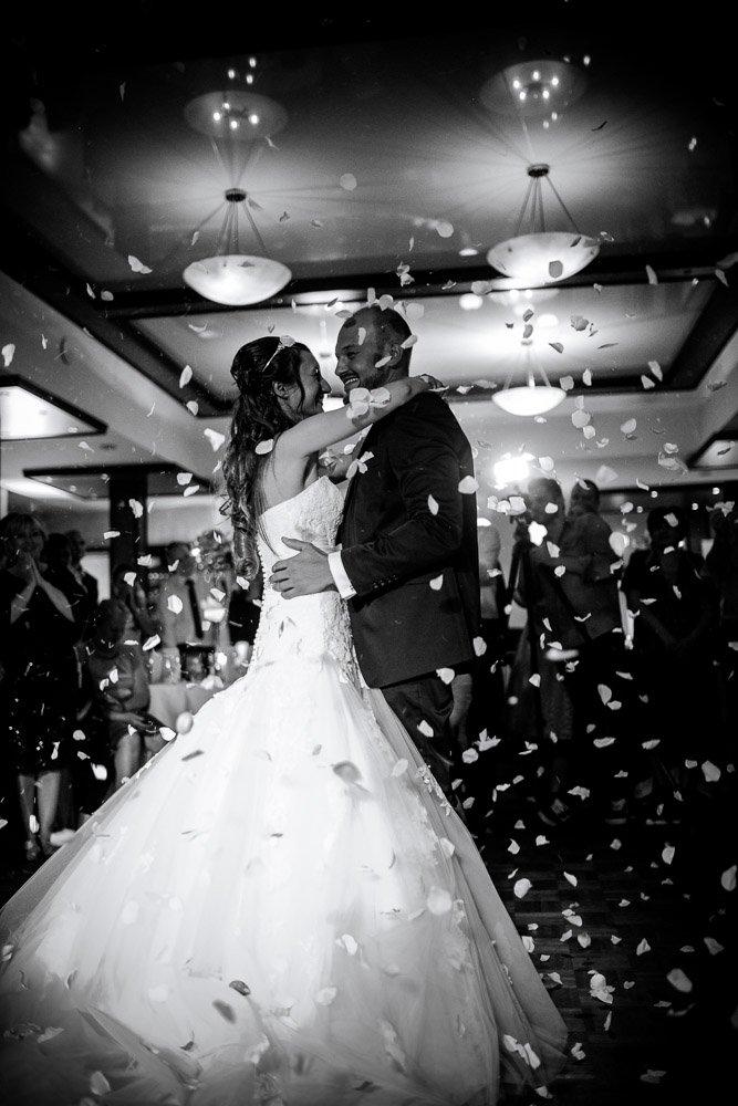 Tanzeröffnung in der Hochzeitsreportage Bremen, Hochzeitsfotograf Hannover
