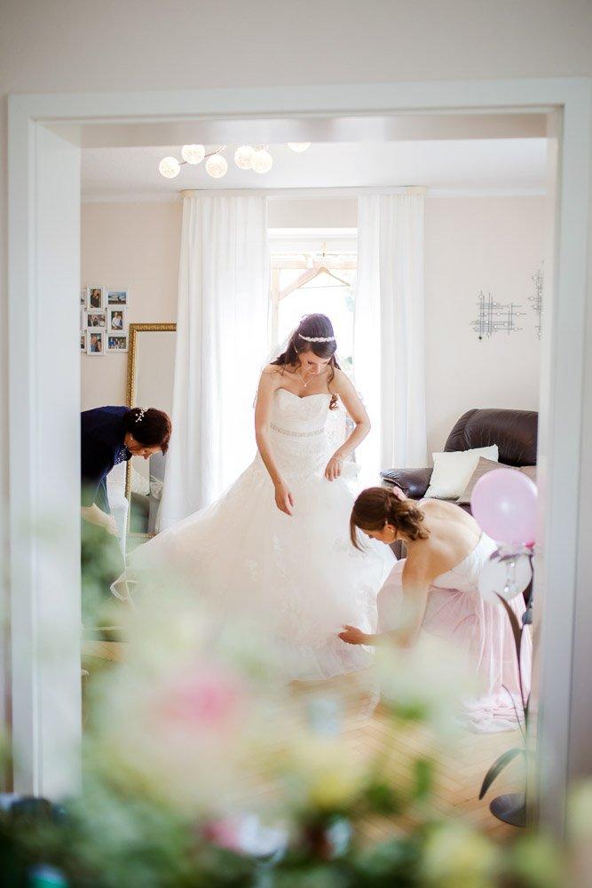 Hochzeitsfotograf Hannover, Hochzeitsreportage Bremen, Getting Ready der Braut