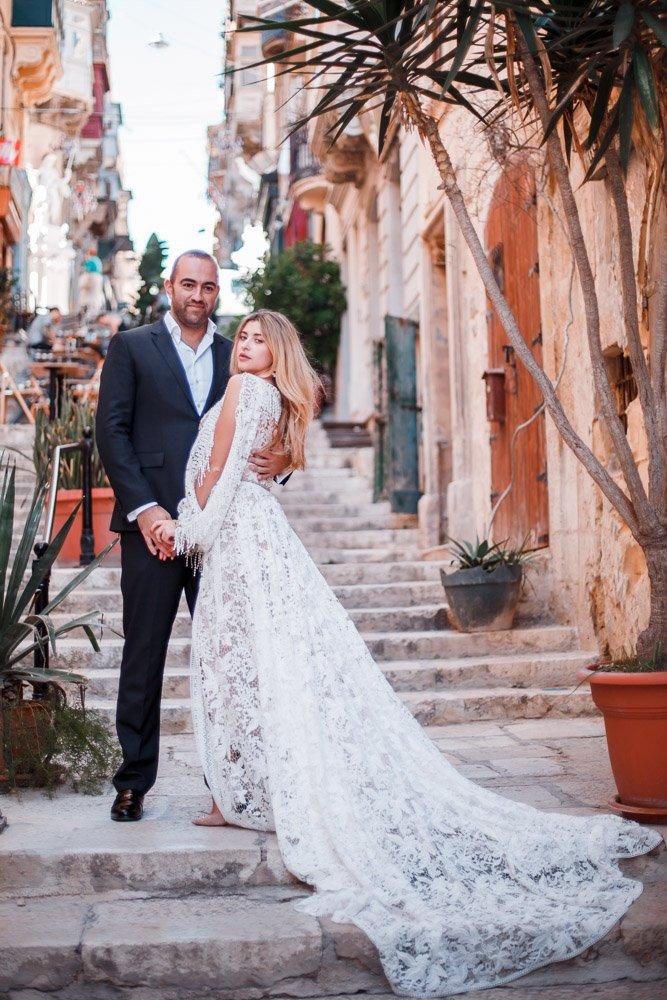 Hochzeitsfotograf Frankfurt fotografiert eure Hochzeit auch auf Malta, Elopement Wedding Gozo, After Wedding Shooting Valletta
