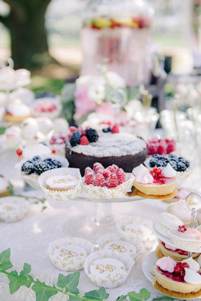 Hochzeitsreportage Frankfurt, Candybar im Schloss Johannisberg, Hochzeitsfotograf