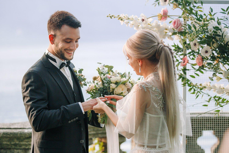 Hochzeitsplanung am Lago Maggiore, Elopement Hochzeit am See in Italien
