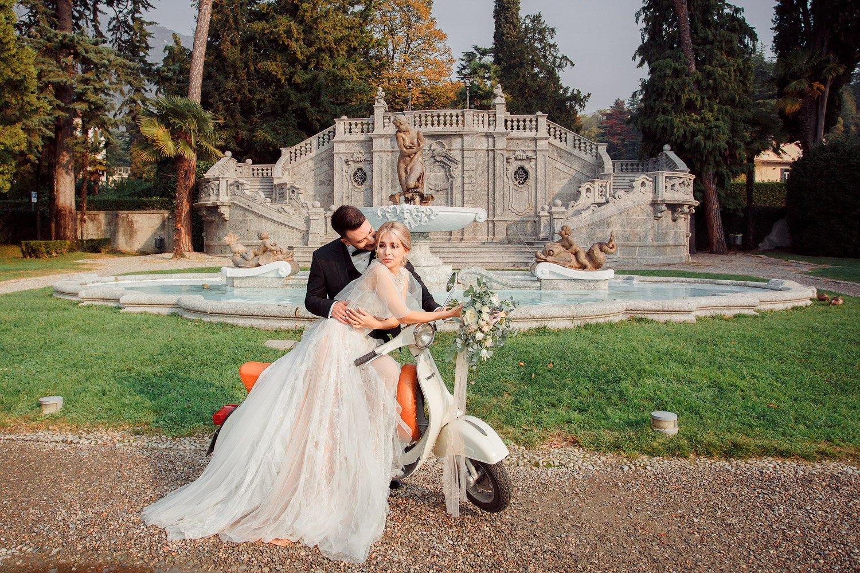 Hochzeitsfotografin Italien, After Wedding Shooting am Comer See, Hochzeitslocation Villa Balbianello