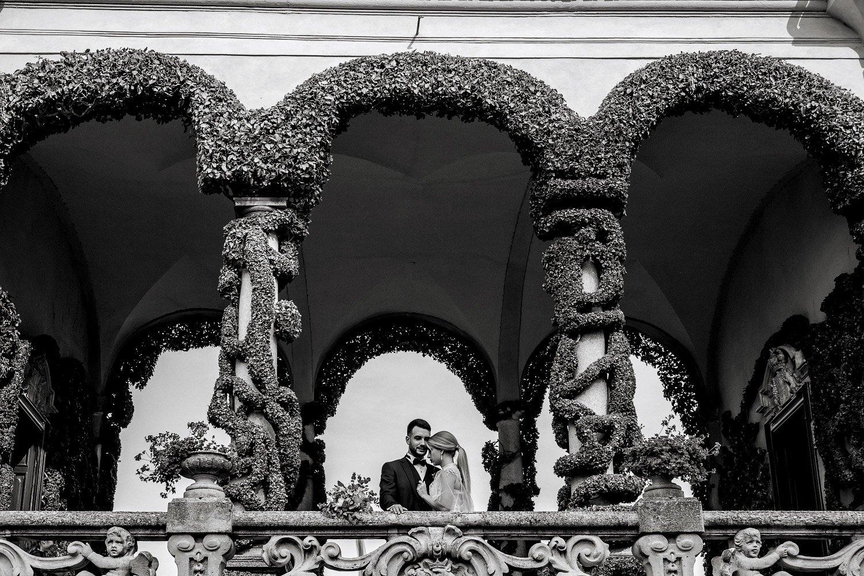 Villa Balbiannelo als Hochzeitslocation, Freie Trauung in Italien, Hochzeitsfotograf für exclusive Hochzeiten zu zweit am Comer See