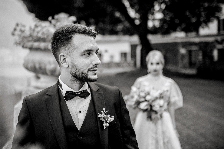 Hochzeitsreportage in Villa Balbianello, Hochzeitsfotograf Italien, Hochzeitsinspiration am Garda See