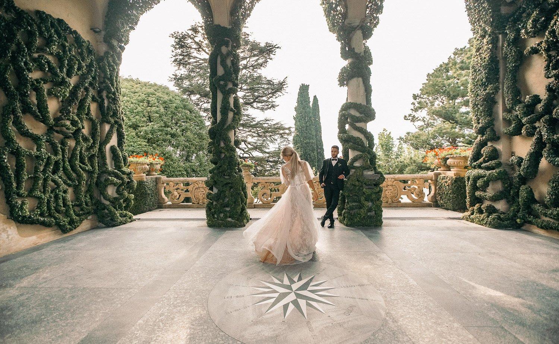 Fine Art Hochzeitsfotograf Villa del Balbianello, Elopement Hochzeit am Comer See, Hochzeitslocation Lago di Como