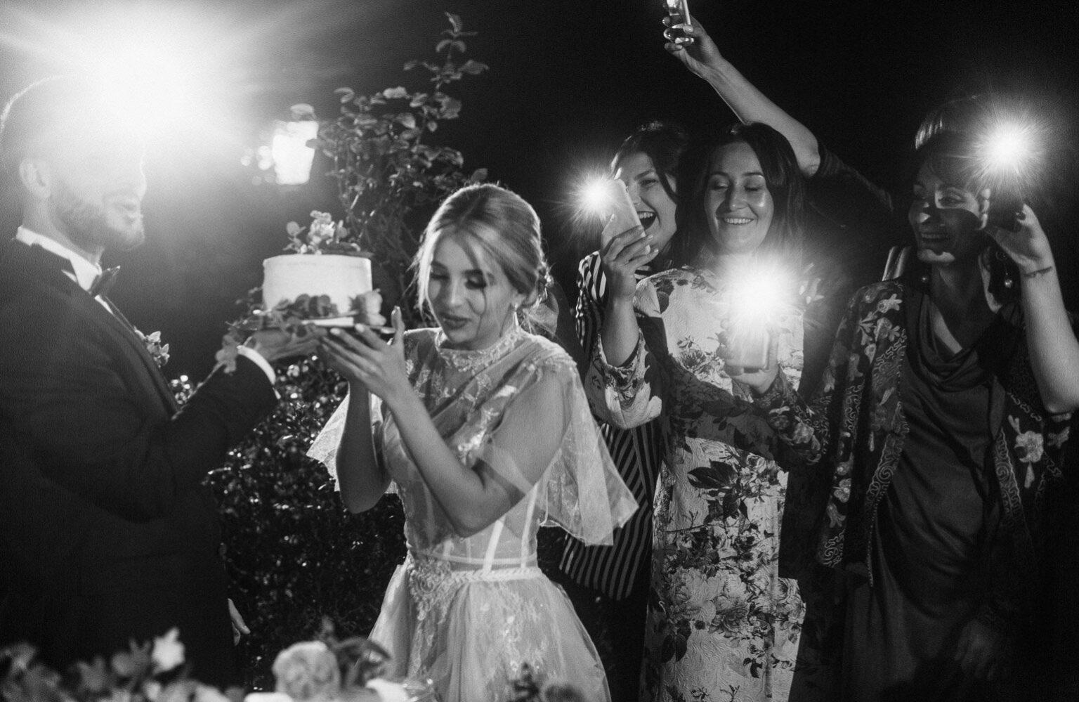 Hochzeitsfeier in Italien, heiraten am Comer See