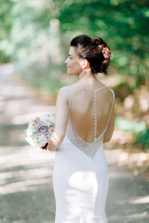 Hochzeitsfotograf Frankfurt, Hochzeitslocation Villa im Tal, Hochzeitskleid Pronovais
