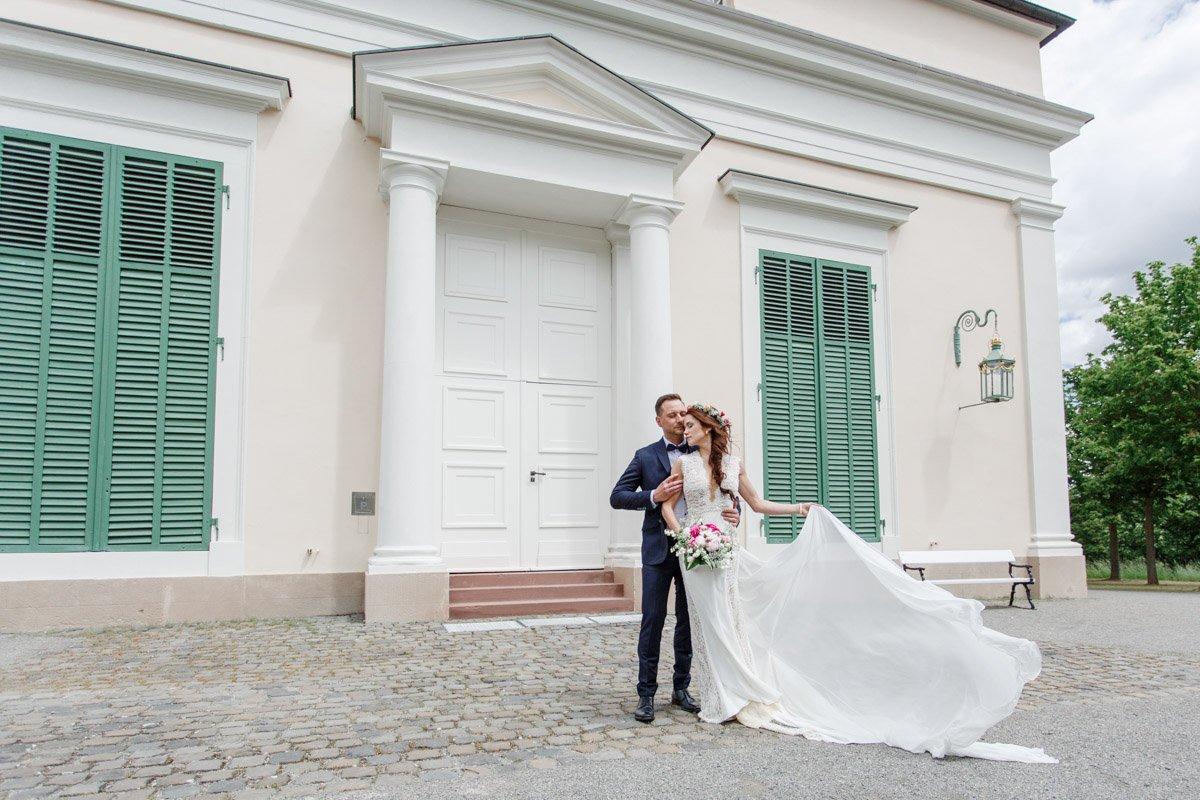 Hochzeit auf der Wilhelmshöhe, Hochzeitsfotograf Frankfurt, Brautpaarshooting Kassel