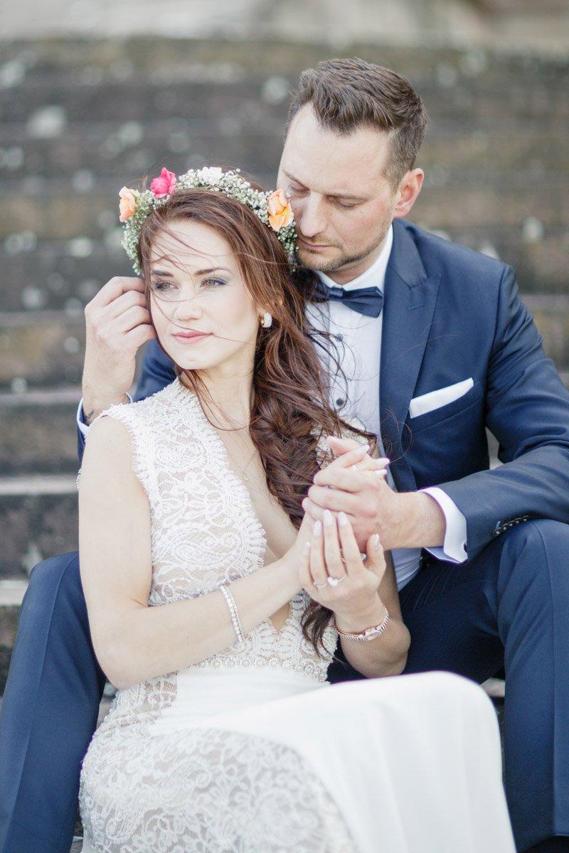 Hochzeitsfotograf Frankfurt, Brautpaarshooting im Schloss Wilhelmshöhe, Hochzeitsplanerin Kassel