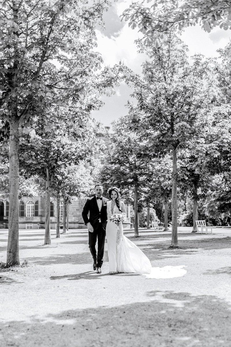 Hochzeitsfotografin Frankfurt, Heiraten im Schloss Wilhelmshöhe Kassel, Fotograf für Trauung Aschaffenburg