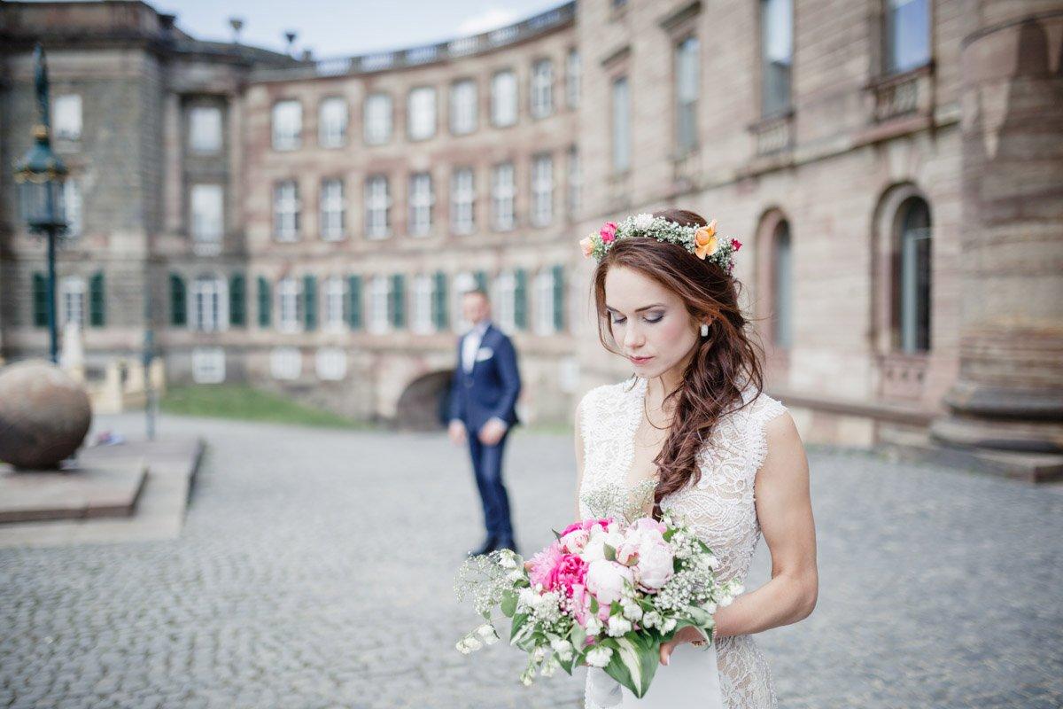 Weddingphotographer Frankfurt, Brautkleid Kassel, Heiraten in Schloss Wilhelmshöhe
