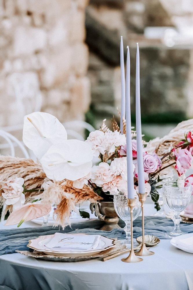 Hochzeitsdeko, Hochzeitsplanung Toskana