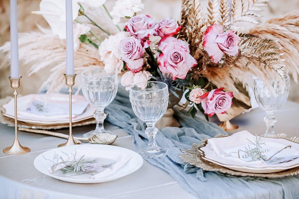 Hochzeitstisch Dekoration, Hochzeitsdeko