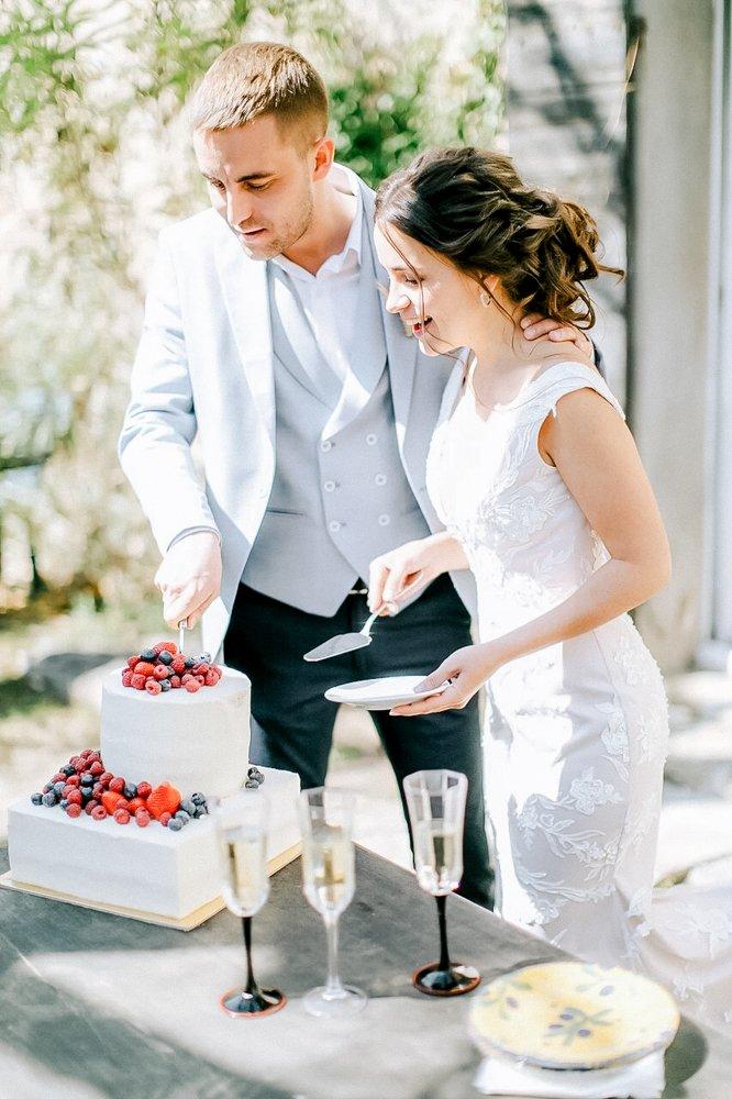 Hochzeitsfotograf Italien, heiraten in Toskana, Hochzeitstorte