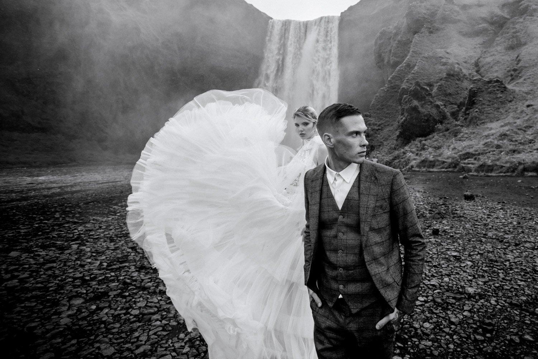 Hochzeit auf Island, Heiraten am Wasserfall, Hochzeitsplanung