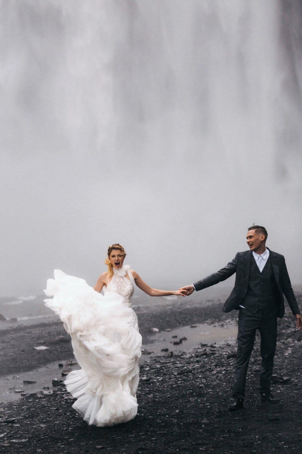 Elopementwedding Iceland, свадьба в Исландии