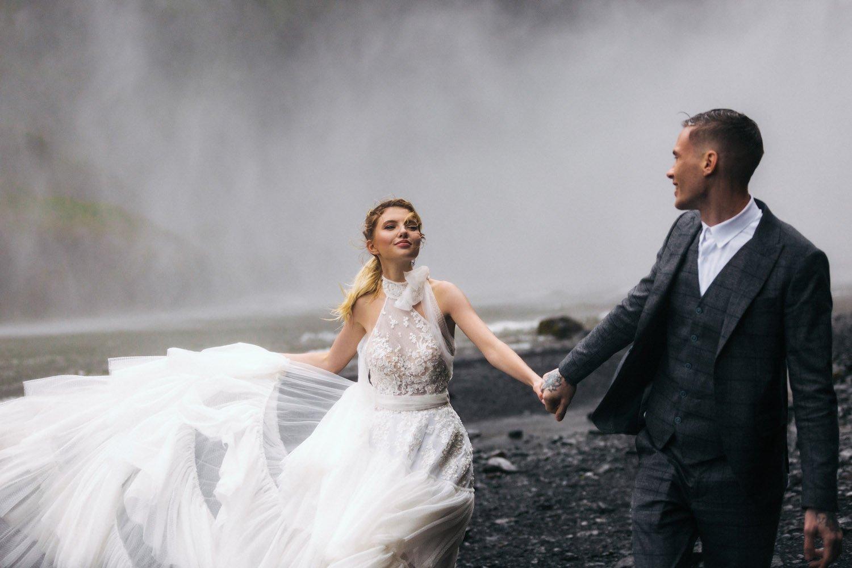Hochzeitsfotografie Island, Hochzeitsplanung auf Insel