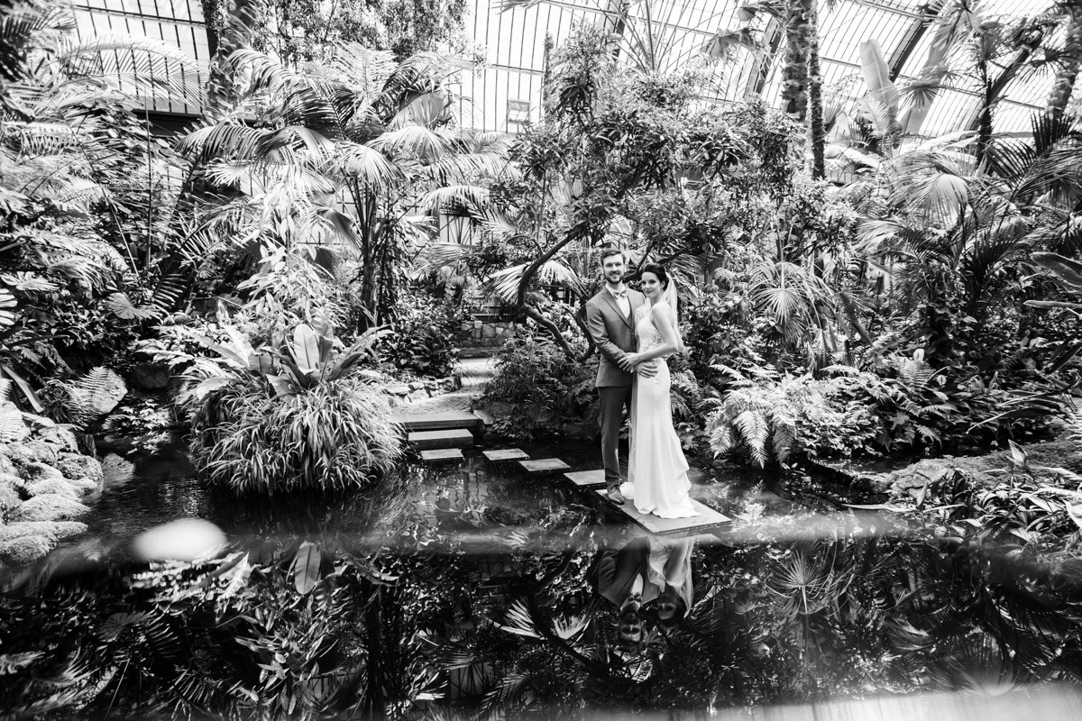 Hochzeitsfotograf Frankfurt, Standesamt im Palmengarten, Hochzeitsfeier Schloss Platte