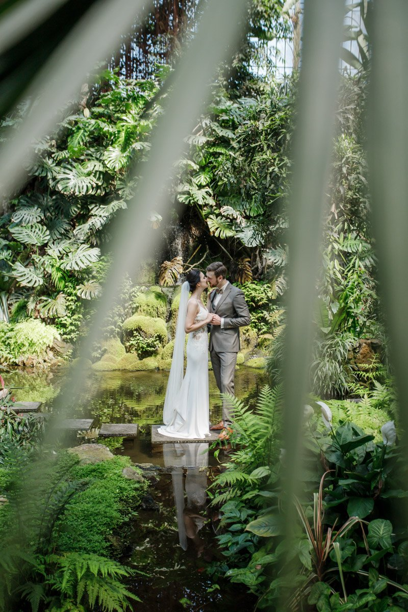 Brautpaarshooting Palmengarten