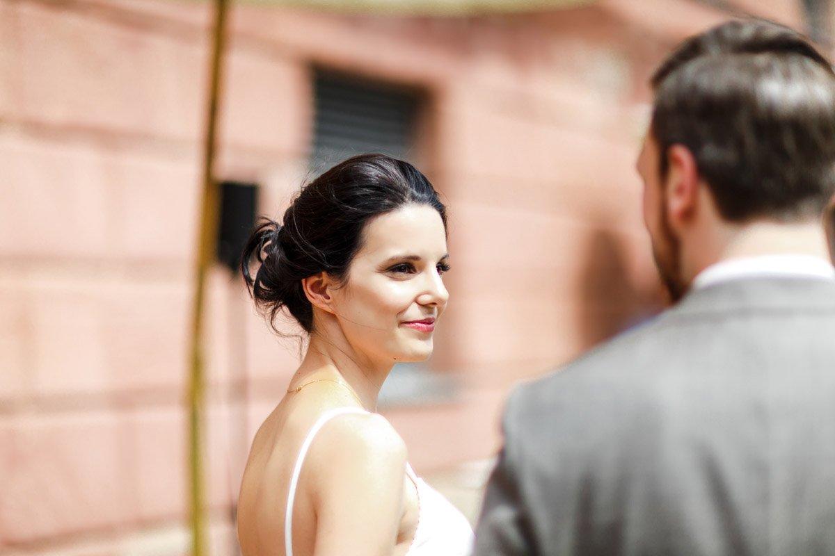 Hochzeitsfotograf Schloss Platte, kirchliche Trauung Wiesbaden, heiraten in Rheingau