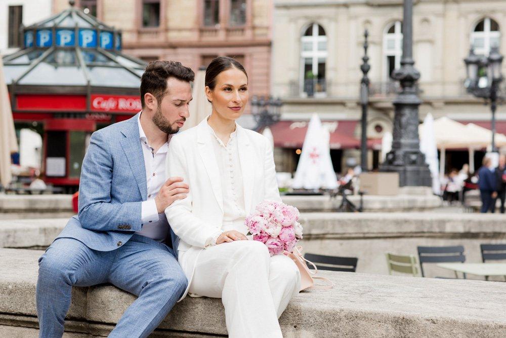 Hochzeit in der Alten Oper, Heiraten in Frankfurt, Hochzeitsfotograf München