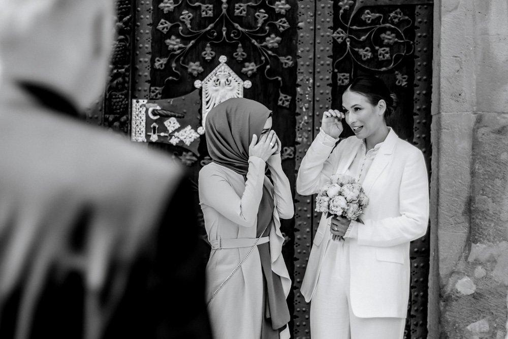 emotionale Hochzeitsreportage am Römer, Hochzeitsfotograf Frankfurt, Heiraten in München