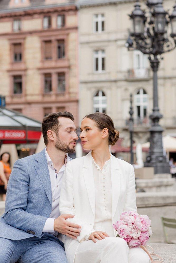 Hochzeitsfotografin Frankfurt, Heiraten in der Alten Oper, Brautpaarshooting München